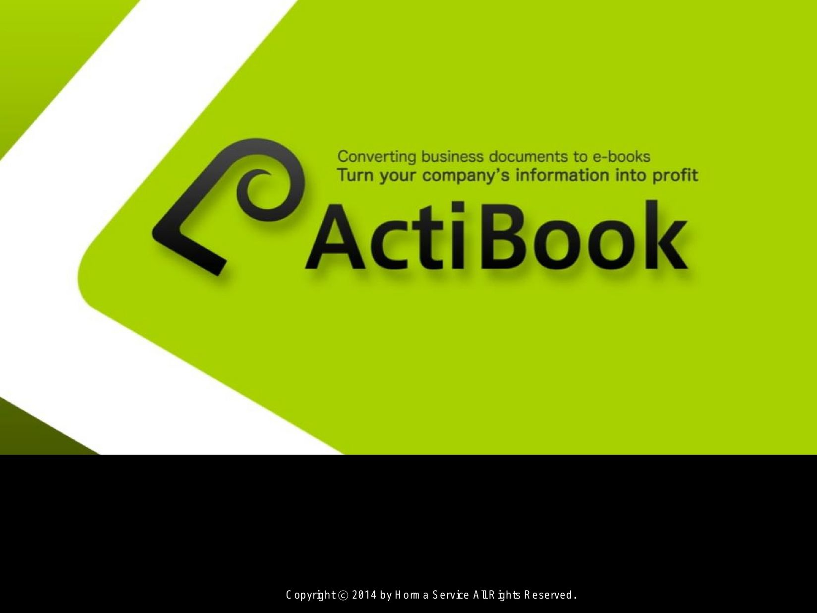 ActiBook 產品簡介與效益說明